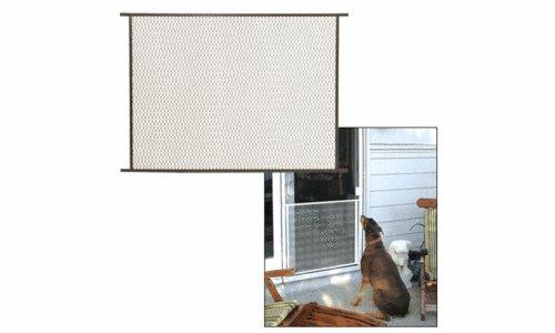Compare Price Screen Door Metal Pet Guard On