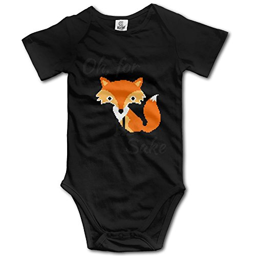 Cutee Pixel For Fox Sake Babysuit Infant Jumpsuit Cartoon Baby Girls Boys Romper Bodysuits (Fox Womens Body Rock)