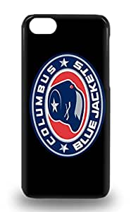 High Quality Shock Absorbing 3D PC Case For Iphone 5c NHL Columbus Blue Jackets Logo ( Custom Picture iPhone 6, iPhone 6 PLUS, iPhone 5, iPhone 5S, iPhone 5C, iPhone 4, iPhone 4S,Galaxy S6,Galaxy S5,Galaxy S4,Galaxy S3,Note 3,iPad Mini-Mini 2,iPad Air )