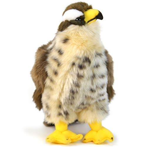 VIAHART Percival The Peregrine Falcon | 10 Inch Hawk Stuffed Animal Plush Bird | by Tiger Tale Toys ()