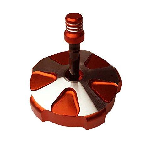 Orange BILLET CNC FUEL GAS CAP FITS KTM 85 125 150 250 350 450 SX SXF SX-F XC XC-F Mace offroad