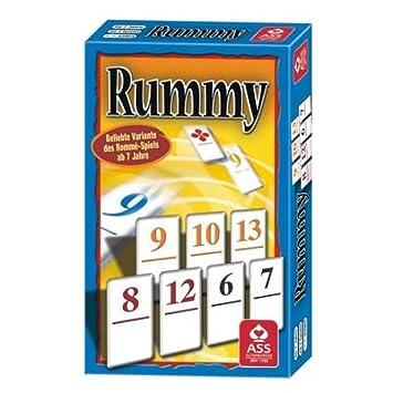 ASS Altenburger Spielkarten 9681 Rummy - Juego de Cartas (en ...