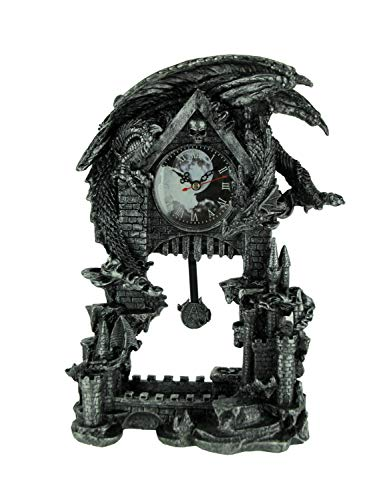 (Things2Die4 Evil Dragon Pentagram Pendulum Mantel)