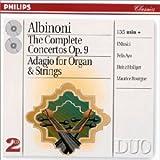 The Complete Concertos Op 9;Adagio For Organ & Strings