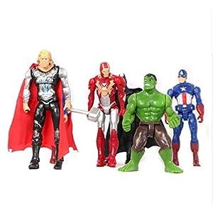 Action Figures 4 Piece Set