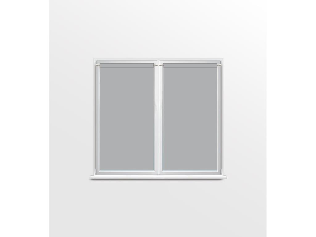 Soleil d'Ocre Dolly Paire de Brise Bise, Polyester, Gris, 90x120 cm Selartex 048543