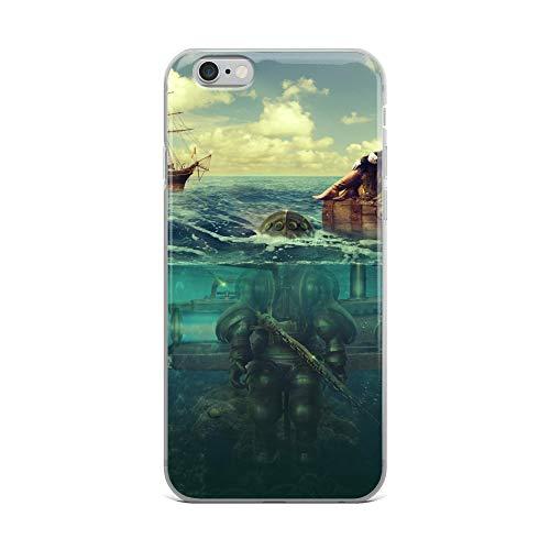 iPhone 6 Plus/6s Plus Case Anti-Scratch Phantasy Imagination Transparent Cases Cover Ambush Fantasy Dream Crystal Clear