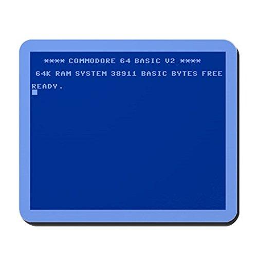 Price comparison product image CafePress - Commodore 64 - Non-slip Rubber Mousepad,  Gaming Mouse Pad