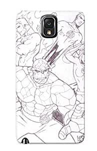 High-end Case Cover Protector For Galaxy Note 3(the Fantastic Four 05 By Weaponx5203 Cartoon Ic Traditional Media)