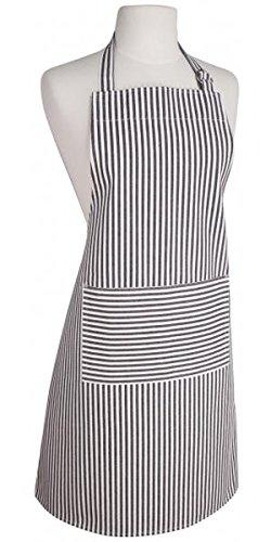 Now Designs Striped Apron - Now Designs Blk Stripe