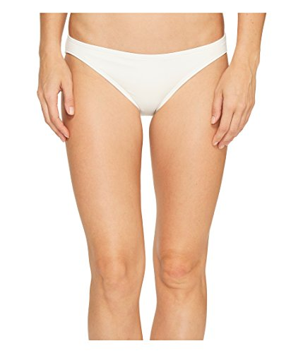 MICHAEL Michael Kors Women's Villa Del Mar Classic Bikini Bottom, White, Medium (Michael Kors Junior)