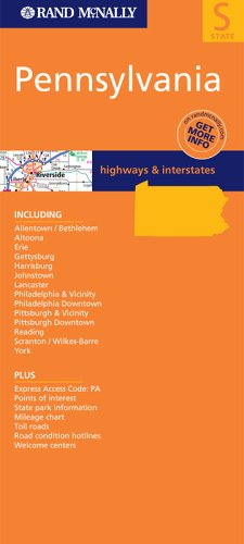Pennsylvania: Highways & Interstates (State Maps-USA)