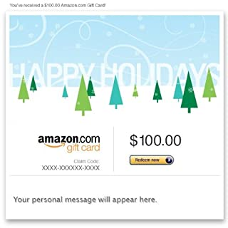 Amazon Gift Card - Email - Happy Holidays (Trees) (B00A4EK7ZU) | Amazon price tracker / tracking, Amazon price history charts, Amazon price watches, Amazon price drop alerts