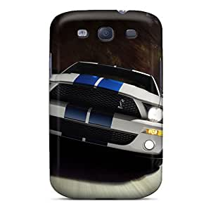 Samsung Galaxy S3 Mfv8592gCOZ Customized High-definition Ford Mustang Pattern Bumper Hard Cell-phone Cases -DrawsBriscoe