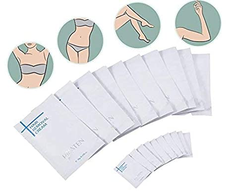 Crema depilatoria, 10 unids Mujeres Hombres Crema depilatoria Axilas Brazo Piernas axilas Depilación Nueva