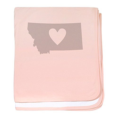 CafePress - Heart Montana - Baby Blanket, Super Soft Newborn - Montana Stores Billings