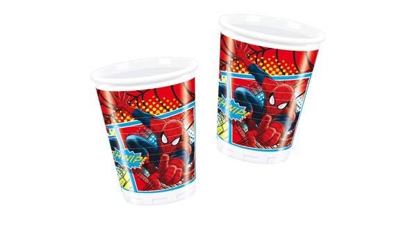 COOLMP - Juego de 12 Vasos de Spiderman - Talla única ...