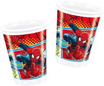 COOLMP - Juego de 6 Vasos de Spiderman - Talla única ...