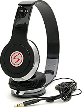 Signature VM46 Stereo HD Dynamic Wired Headphone Over Ear Headphones