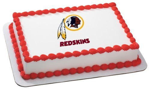 NFL Washington Redskins ~ Edible Cake Image Topper by Quantumchaos Media ()