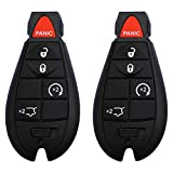 Key Fob YITAMOTOR Keyless Entry Remote Replacement for M3N5WY783X 433MHz Car Key Compatible for Jeep Grand Cherokee 2008 2009 2010 2011 2012 2013