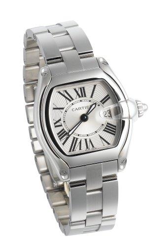 Cartier Women s W62016V3 Roadster Stainless Steel Watch