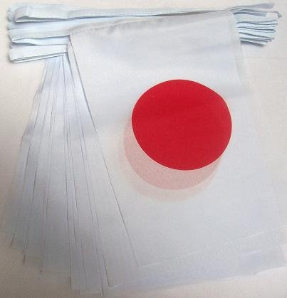 bandera de tela japonesa