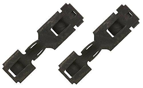 (2 Clips) OEM Factory Dryer Panel Clip Part Number 3394083 (AP2975846) replaces 237823, 3167, AH345270, EA345270, PS345270, 8283335, 3394083D Clothes Dryer Panel