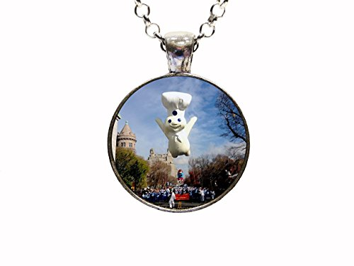 Doughboy Pendant Necklace or Keychain Macys ThanksgivingDay Parade NYC New - Nyc Macy's