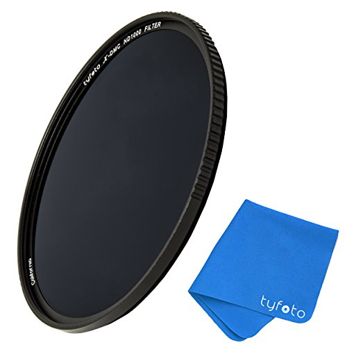 77mm 10-Stop ND Filter For Camera Lenses - Neutral Density Professional Photography Filter with Lens Cloth - Schott b270 glass,16-layer Nanoform, Ultra-slim, Weather-Sealed by Tyfoto (The Density What Is Pet Of)