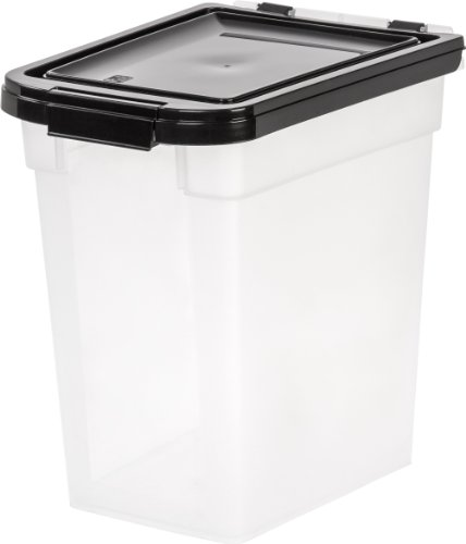 - IRIS Nesting Airtight Pet Food Container, Medium