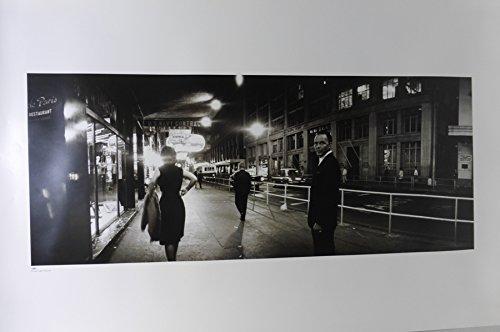 Rare 2007 Poster - FRANK SINATRA 2007 BLACK AND WHITE RARE POSTER (1038)