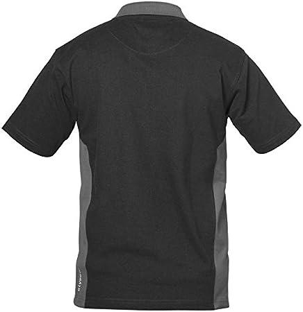 Elysee 21021-2XL Poloshirt Sevilla Gr/ö/ße 2XL in schwarz//grau