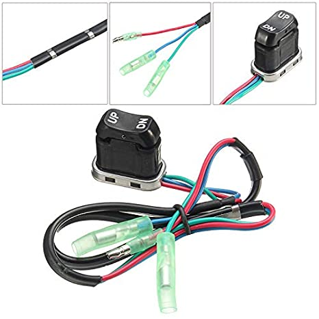 Outboard Remote Control Power Trim Tilt Switch 704-82563 for Yamaha