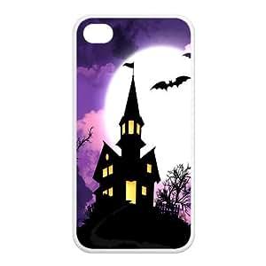 Custom Fairytale Castle Design TPU Case Protector For Iphone 4 4S
