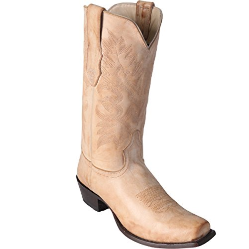 Boot Vintage Altos Toe boots Los Square Finish Leather Original Honey Pq7xTnWAp