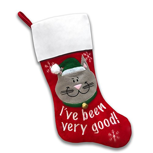 Pet Christmas Stockings (Good Cat) (Cat Christmas Stocking)