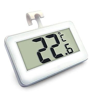 lecimo Digitales Thermometer ohne Draht zum Flüssigkristallanzeige W ...