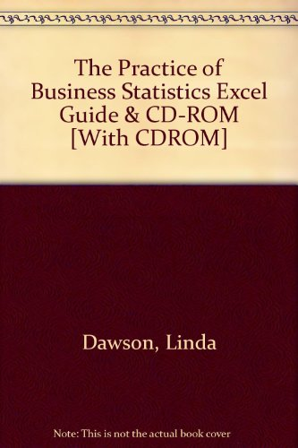 The Practice of Business Statistics Excel Guide & CD-ROM