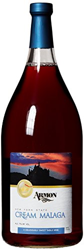 NV Armon Cream Malaga New York Red Sweet Wine 1.5 L Kosher