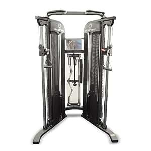 Inspire Fitness FT1 - Gimnasio en casa, color negro / plata