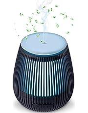 Beschoi Humidificador Aceites Esenciales Ultrasónico 100ml Mini Difusor Aromaterapia de Vapor Frío con 7 Colores de LED y 2 Opciones de Niebla para Bebes Casa Habitacion Dormitorio Oficina etc