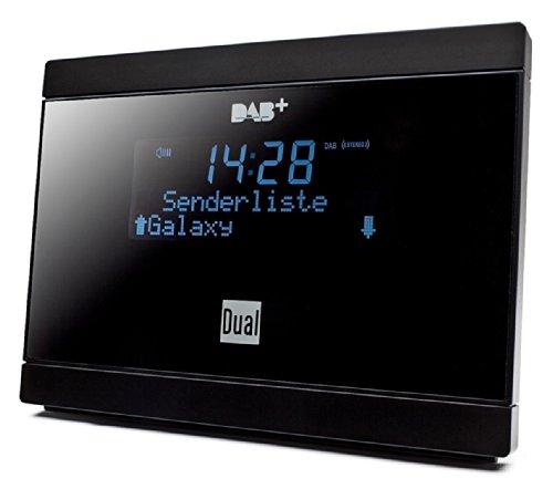 Dual DAB 2 A Digital-Radio Adapter mit Fernbedienung (LCD-Display, DAB(+)/UKW-Tuner, Alarmfunktion) Schwarz