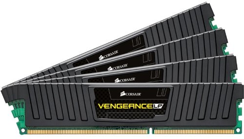 Corsair Vengeance LP 32GB (4x8GB) DDR3 1600 MHZ (PC3 12800) Desktop Memory 1.5V by Corsair