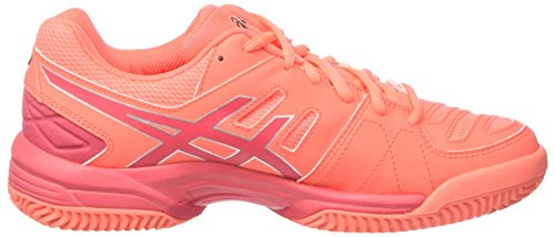 Rouge Silver Asics Tennis Chaussures SG Pro Orange Padel 3 Flash Red de Femme Gel Coral 7674qH