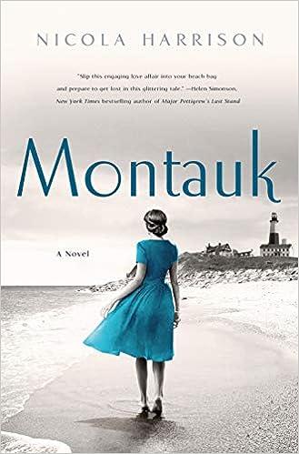 Montauk: A Novel: Harrison, Nicola: 9781250200112: Amazon.com: Books