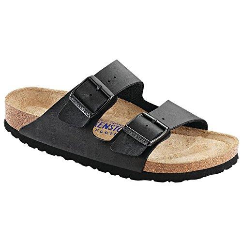 - Birkenstock Unisex Arizona Soft Footbed Black Sandals - 6-6.5 2A(N) US Women