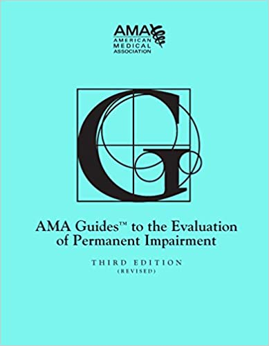 Guides to the Evaluation of Permanent Impairment, third edition