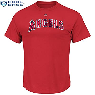Albert Pujols Los Angeles Angels Of Anaheim #5 MLB Youth Cool Base Synthetic Player T-Shirt (Youth Medium 10/12)