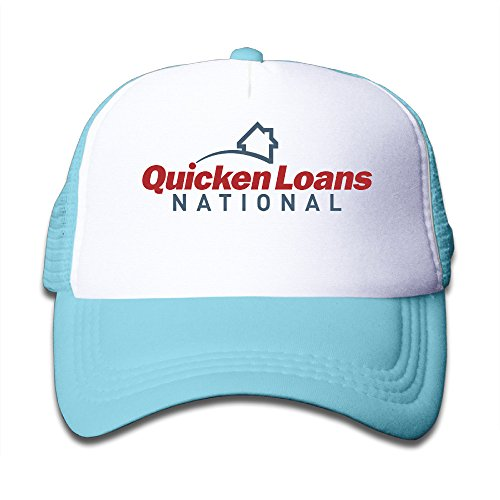 Skyblue Youth Quicken Loans National Funny Adjustable Baseball Trucker Caps For Boys One Size
